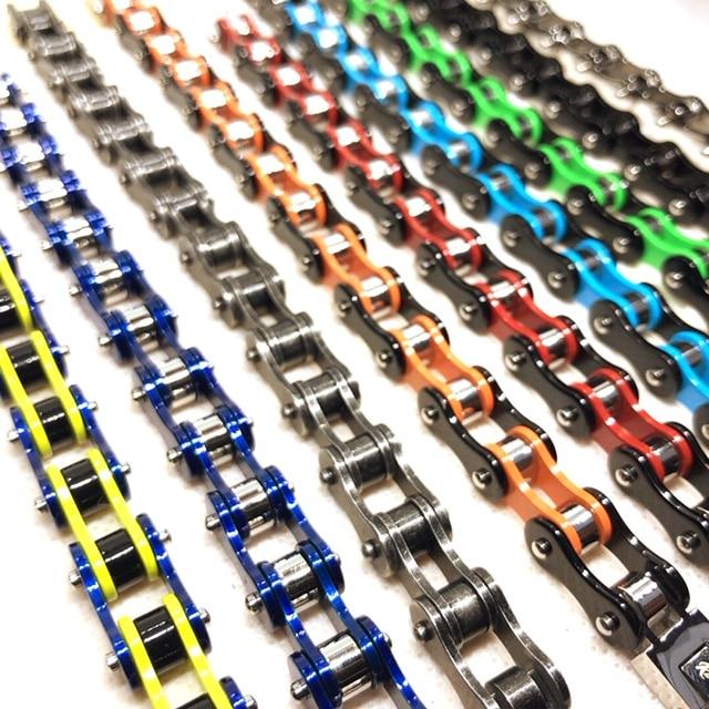 Bracelet chaine de couleur